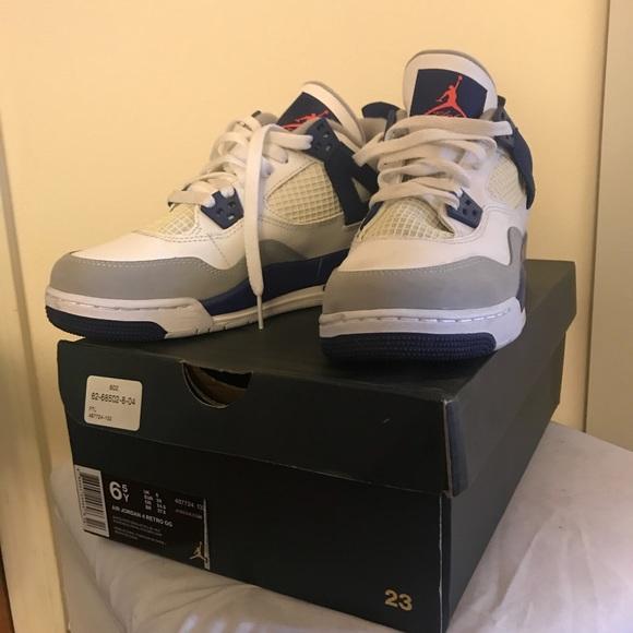 "low cost e74ce d227d Jordan Shoes - AIR JORDAN 4 RETRO GG(GS) ""knicks"""